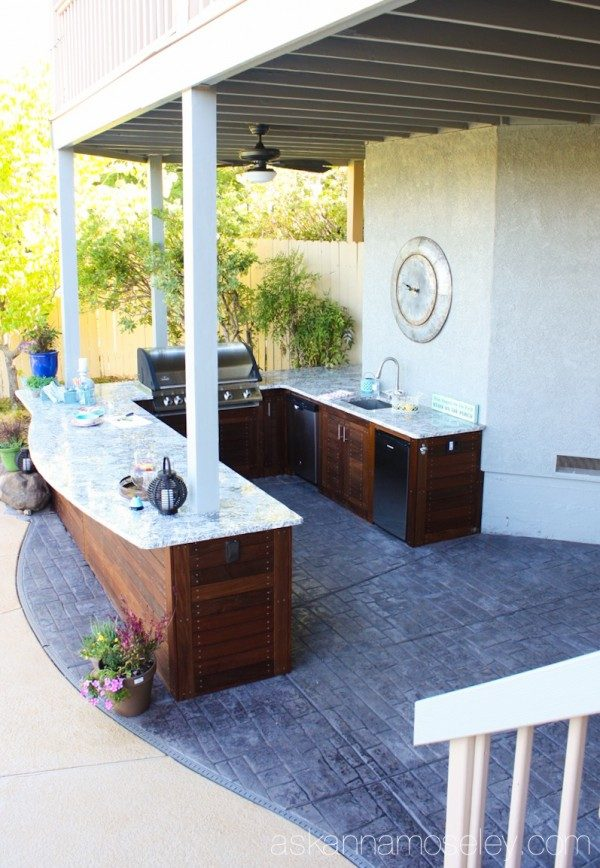 Outdoor kitchen | Ask Anna