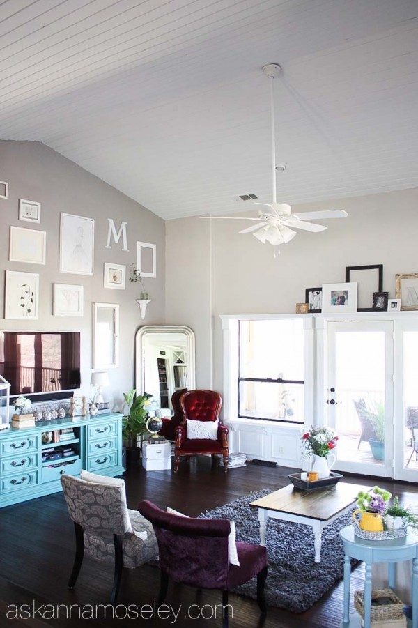 White panelled ceiling | Ask Anna