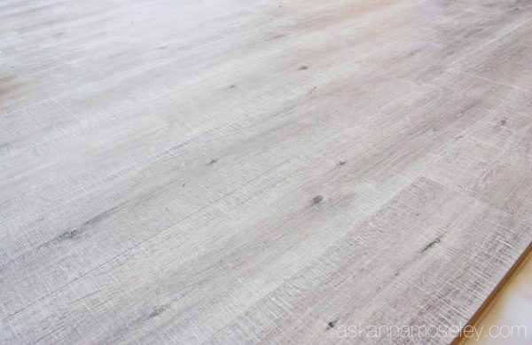 Flooring installation update with Envique laminate flooring | Ask Anna