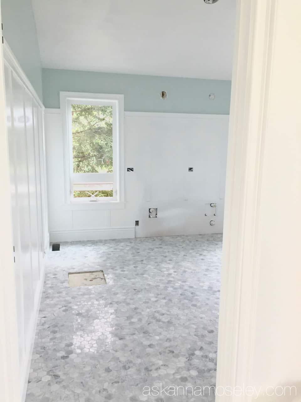 Master bathroom renovation update   Ask Anna