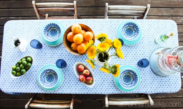 Tips for how to set up an outdoor dining area that's beautiful and affordable | Ask Anna