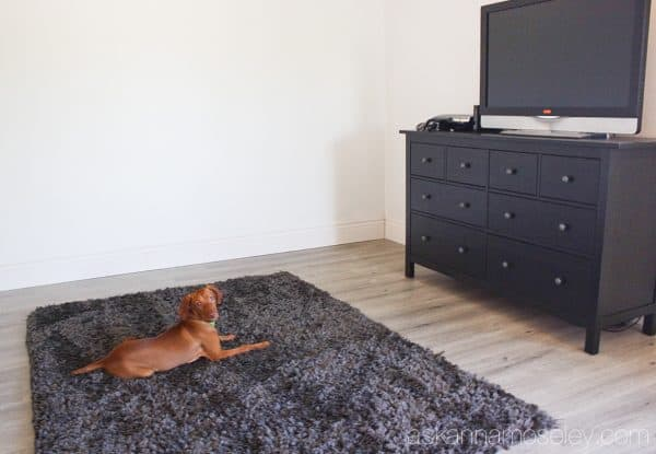 New laminate floors from Quick-Step, they are water and scratch resistant, easy to install and they're beautiful | Ask Anna
