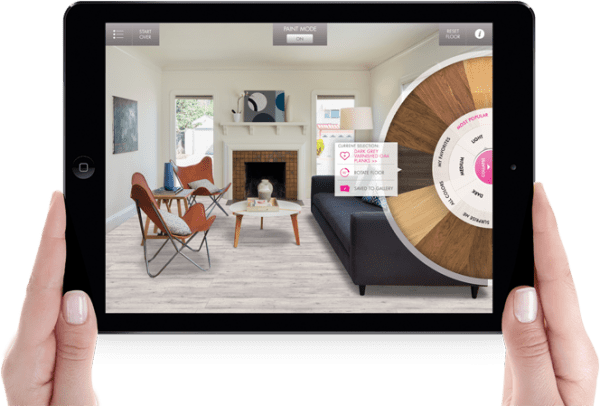 Style my floor app from Quick-Step | Ask Anna