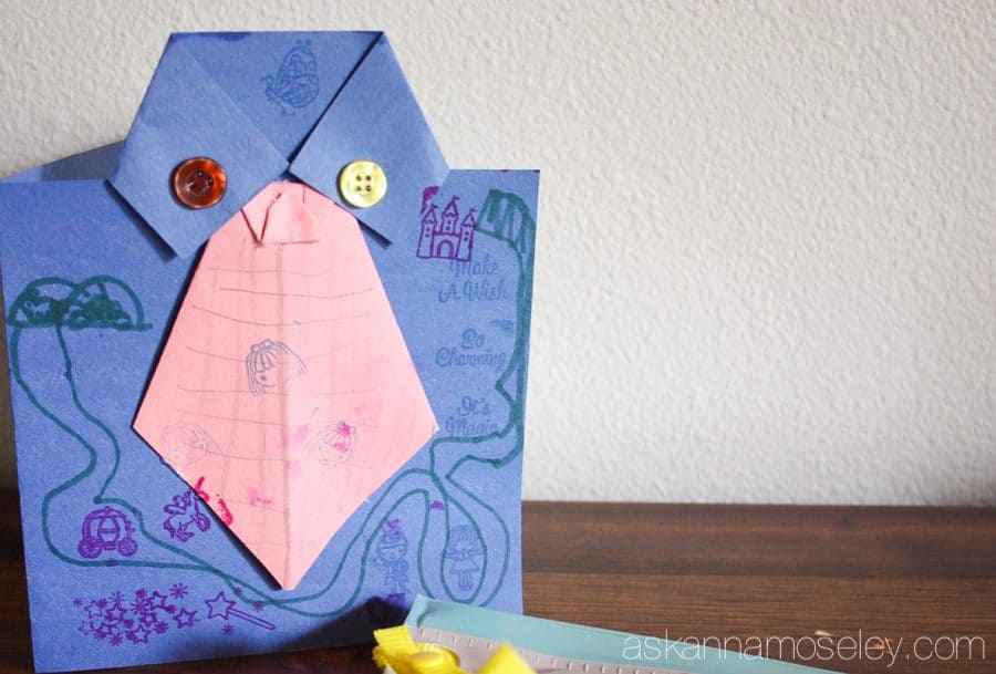Father's Day card craft idea | Ask Anna