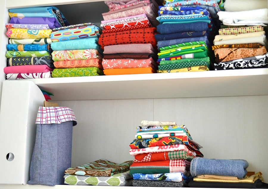 Easy tips for organizing fabric and your sewing room   Organized 31 for Ask Anna