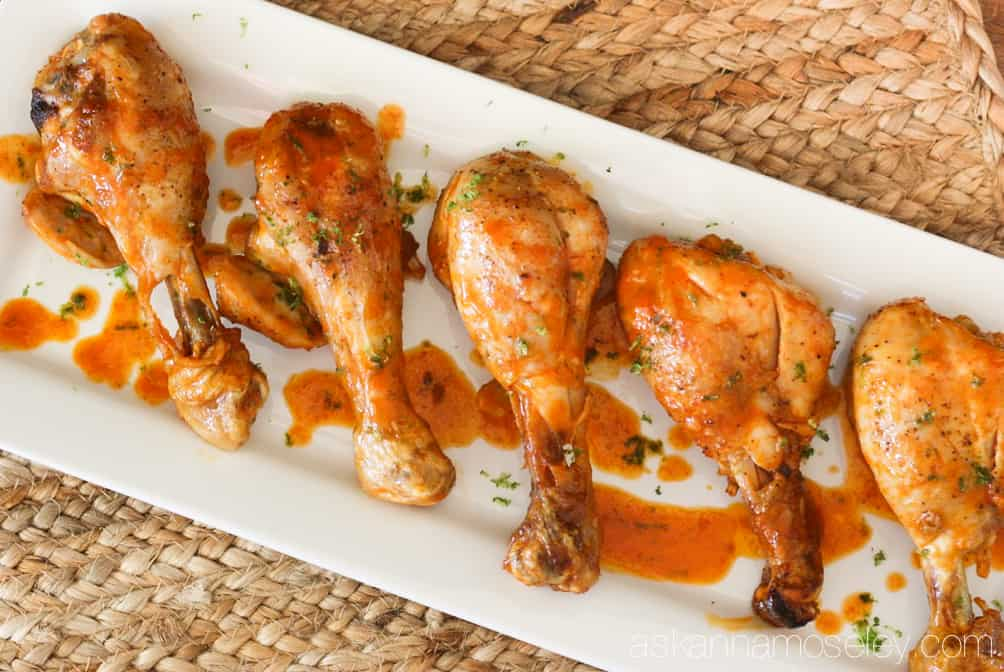 Easy to make, Red Curry-Lime Chicken Wings, are a delicious twist on chicken wings. They are sweet, salty with a little kick, they are a crowd pleaser | Ask Anna