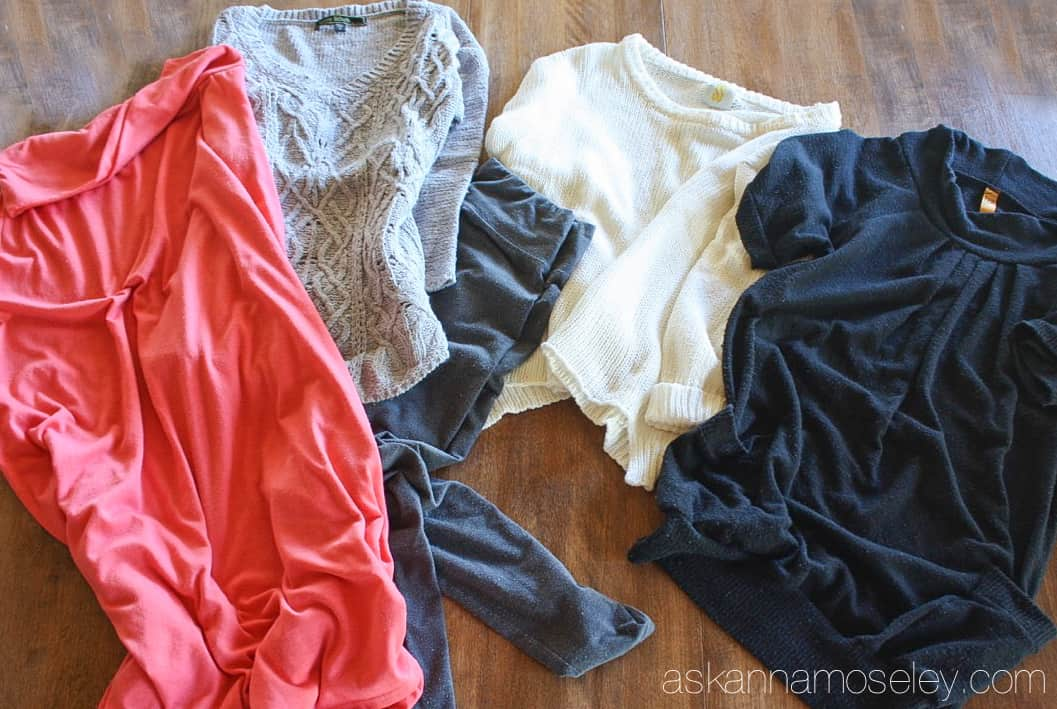 The BEST, and easiest, way to save your clothes and remove pilling! You won't believe how easy it is to make your clothes look new again | Ask Anna
