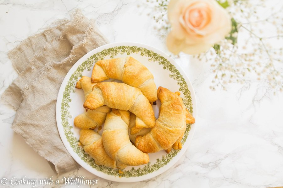 Maple pumpkin cream cheese stuffed crescent rolls, the perfect snack for Fall   Cooking with a Wallflower