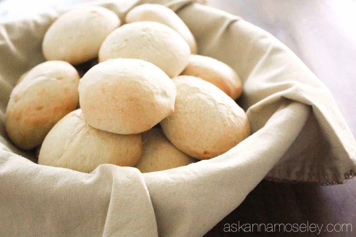 These are the BEST dinner rolls you'll ever eat. They are made from scratch and easy to make. They are dense, oh so delicious and I promise you will LOVE them | Ask Anna