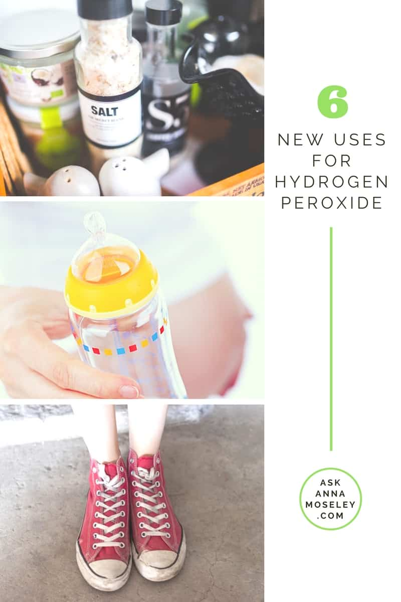 I'm sharing 6 awesome uses for hydrogen peroxide which will come in handy for Spring Cleaning & help you tackle new areas you may have never thought of! | Ask Anna