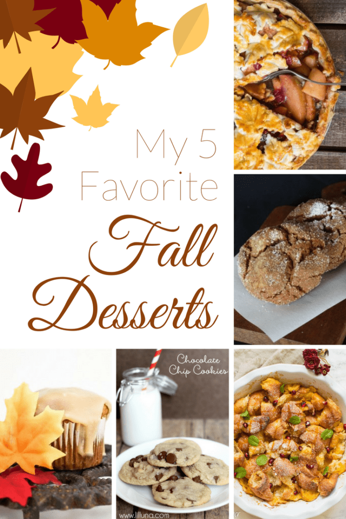 My 5 Favorite Fall Desserts