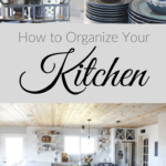 Overwhelmed by how much there is to organize in your house? Start one room at a time! In this post I'm sharing 10 cheap and easy kitchen organization tips, from tupperware lids and kids snacks to pans and cleaning products.   Ask Anna
