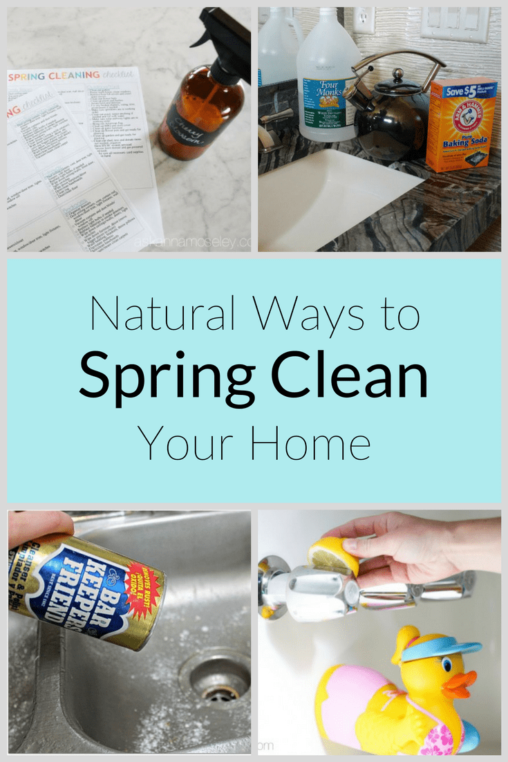 I enjoy spring cleaning with natural products instead of chemical-filled ones. My house smells fresher, is cleaner, and it's good for the environment, too! See all my chemical-free tips to freshen up your spring cleaning too.   Ask Anna