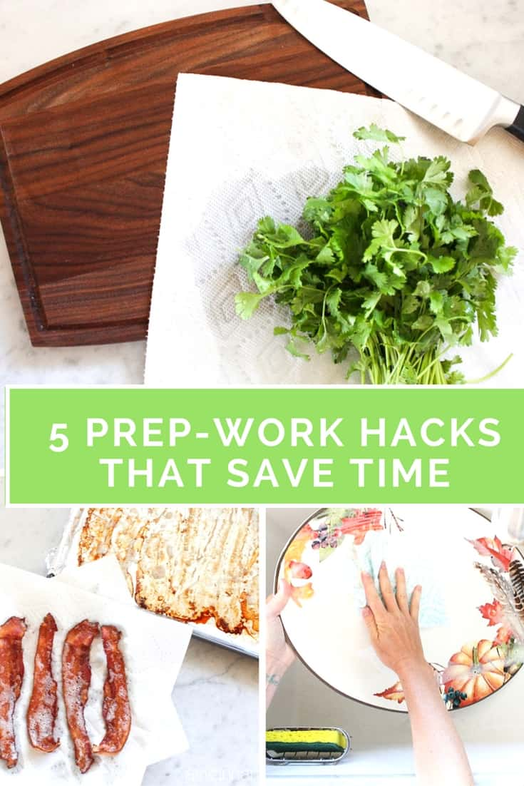 From prepping ingredients, cleaning up spills while you're cooking, to the clean up afterwards, these prep-work kitchen hacks will make your life easier & cleaner | Ask Anna