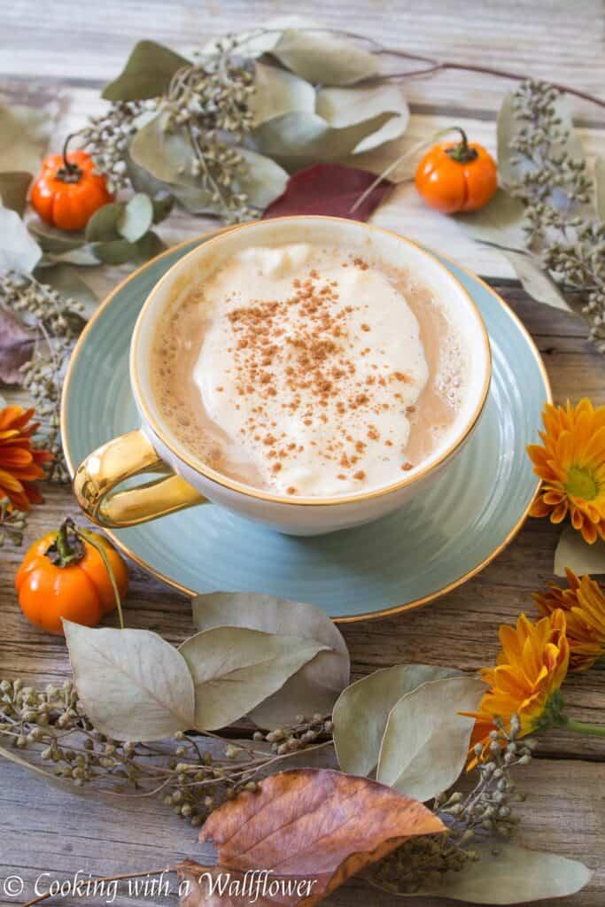 Pumpkin Chai Latte