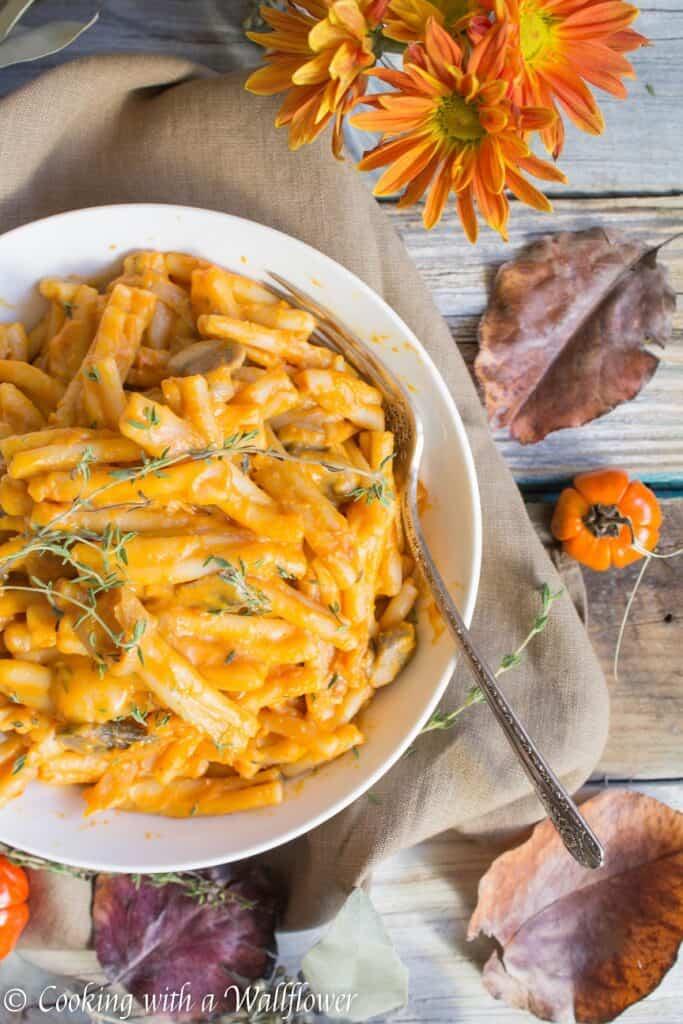 Creamy Pumpkin Pasta a la Vodka