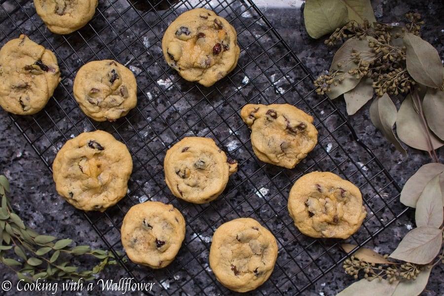Cranberry Dark Chocolate Chunk Cookies