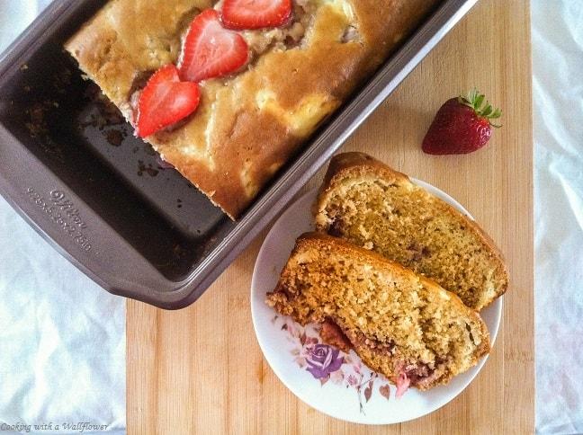 Strawberry Cream Cheese Bread | Ask Anna
