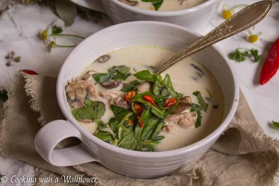 Chicken Coconut Soup