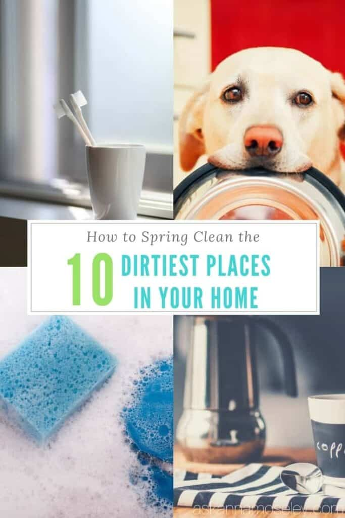 How to spring clean the 10 dirtiest places in your home | Ask Anna