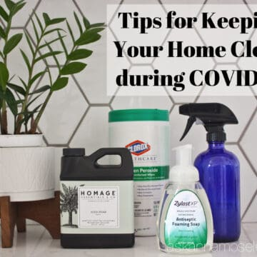 Tips for Keeping Your Home Clean During COVID-19   Ask Anna