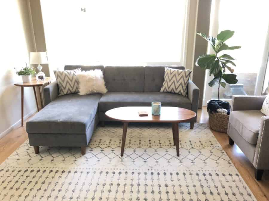 MCM living room | Ask Anna