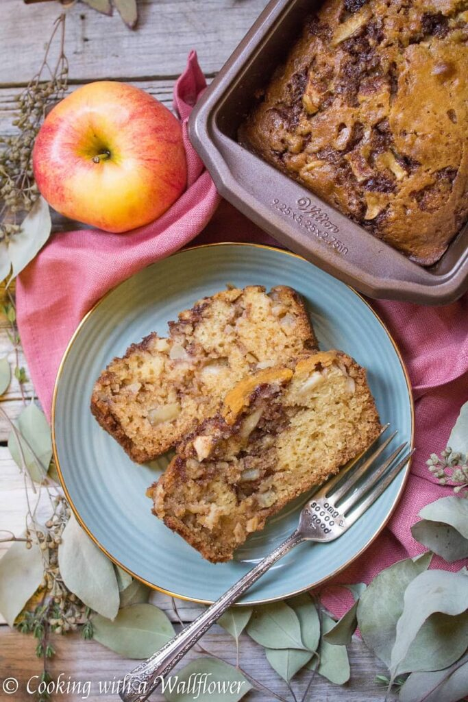 Chai Spiced Apple Bread | Ask Anna