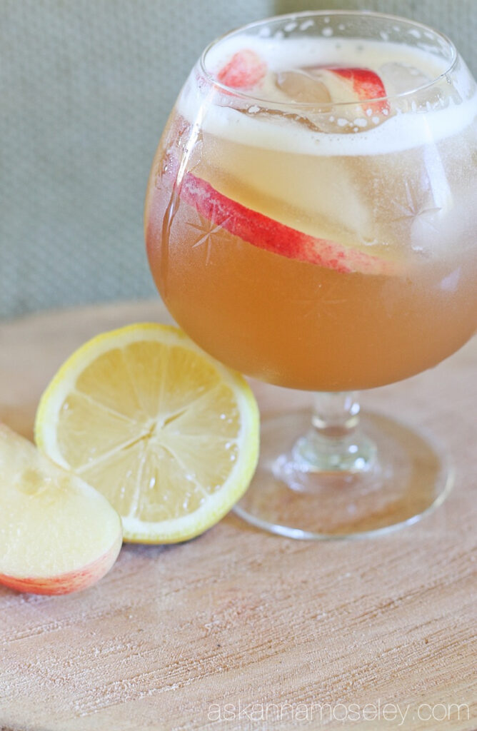 Bourbon Maple Apple Cider | Ask Anna
