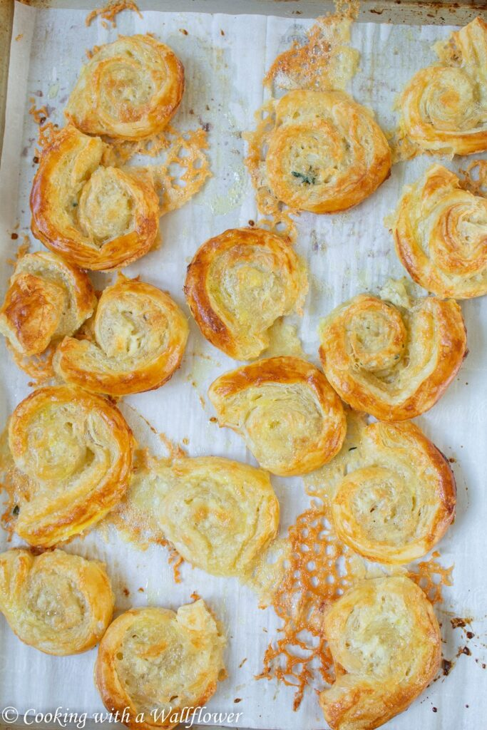 Baked Brie Puff Pastry Swirls with Honey and Toasted Walnuts