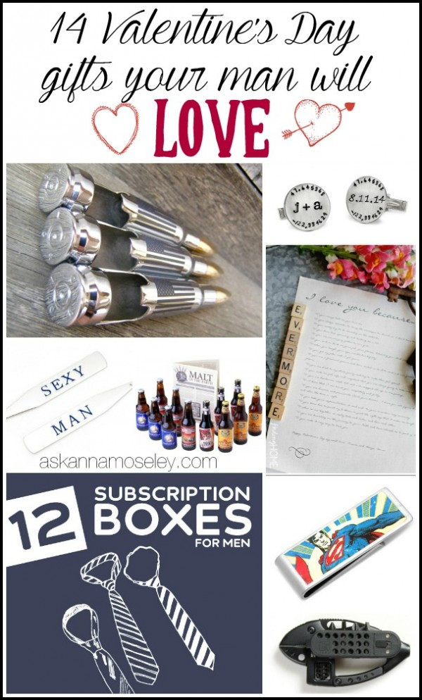 14 Valentine's Day gifts for men | Ask Anna