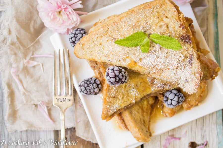 Cookie Butter Stuffed French Toast | Ask Anna