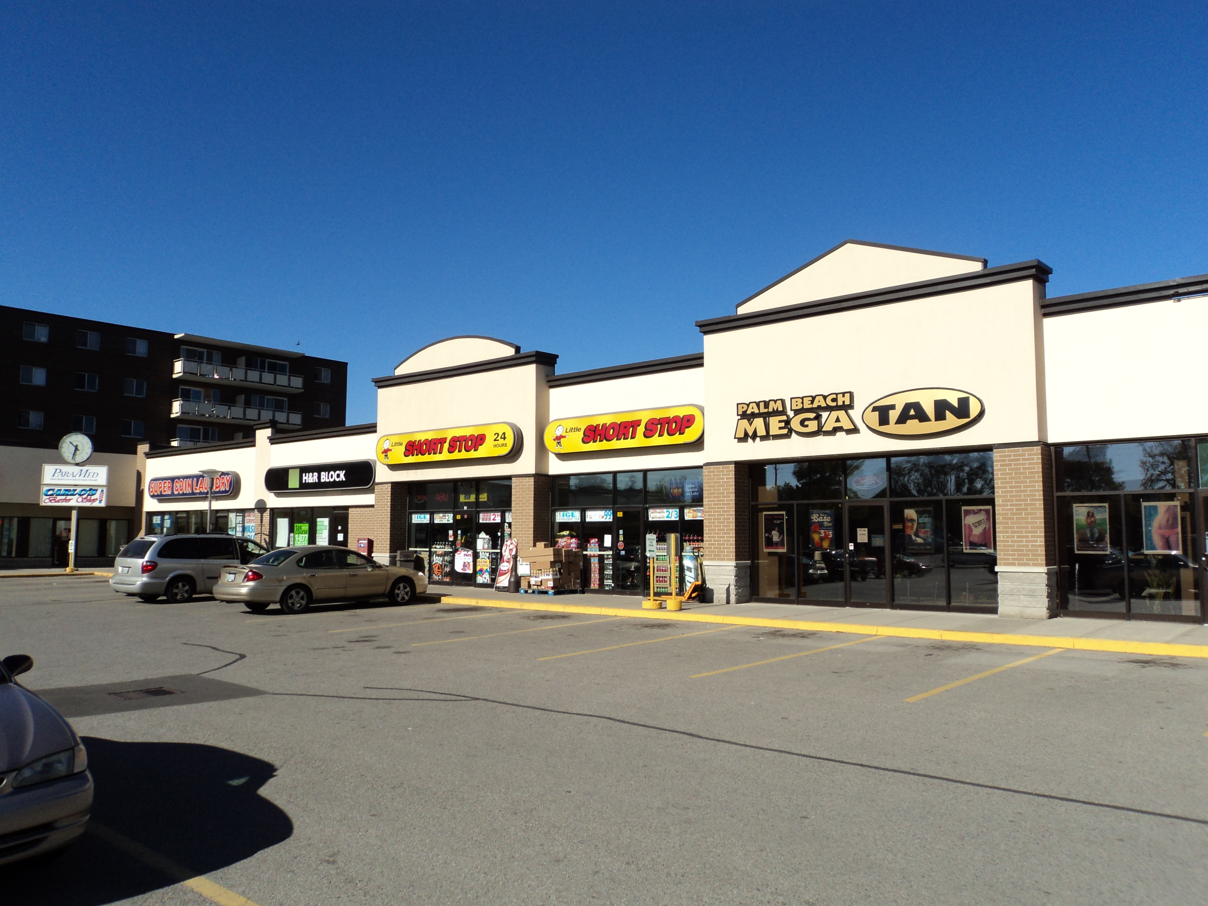 Small Commercial Plaza