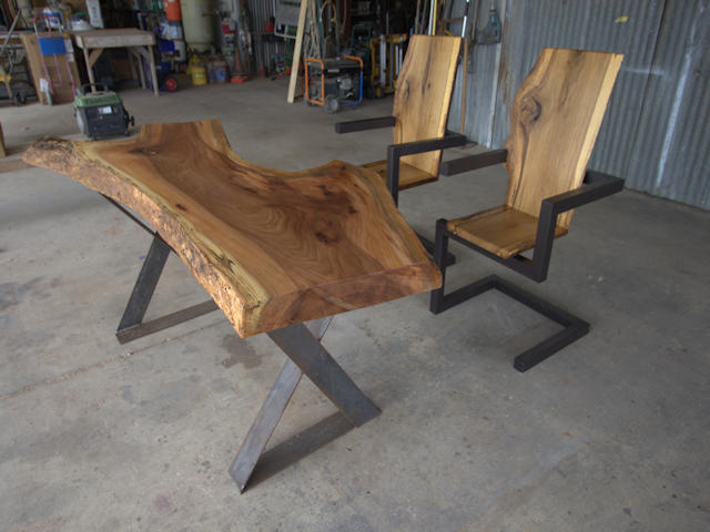 office table and chairs