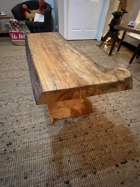 Pecan Bench