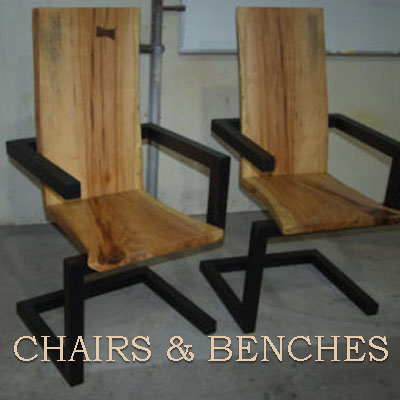 Chairs and Benches for Inspiration
