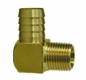 75 brass barb 90