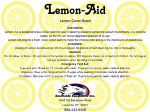 Lemon-Aid Cover Scent