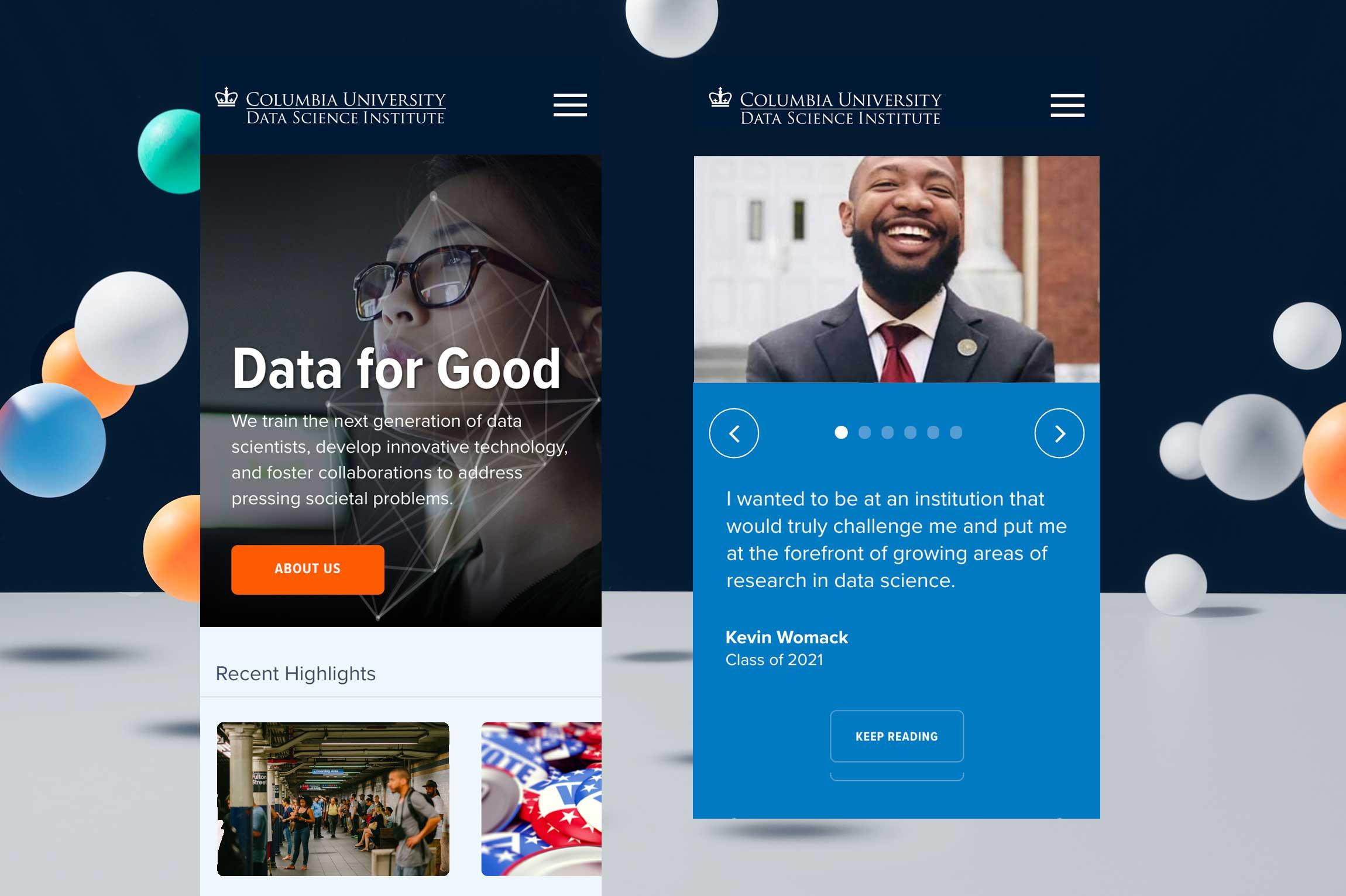 Columbia-Data-Science-Institute-website-design-1