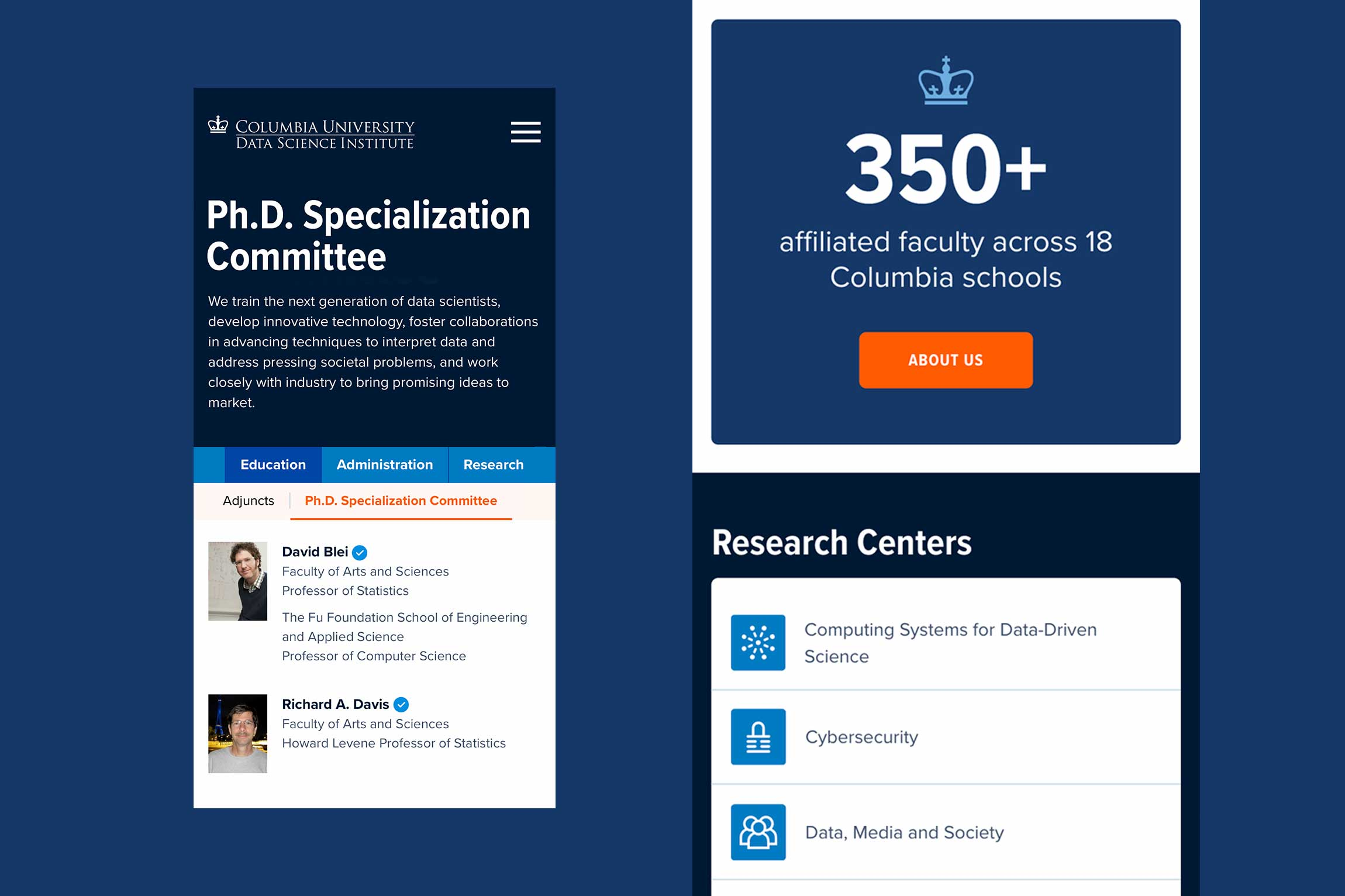 Columbia-Data-Science-Institute-website-design-3