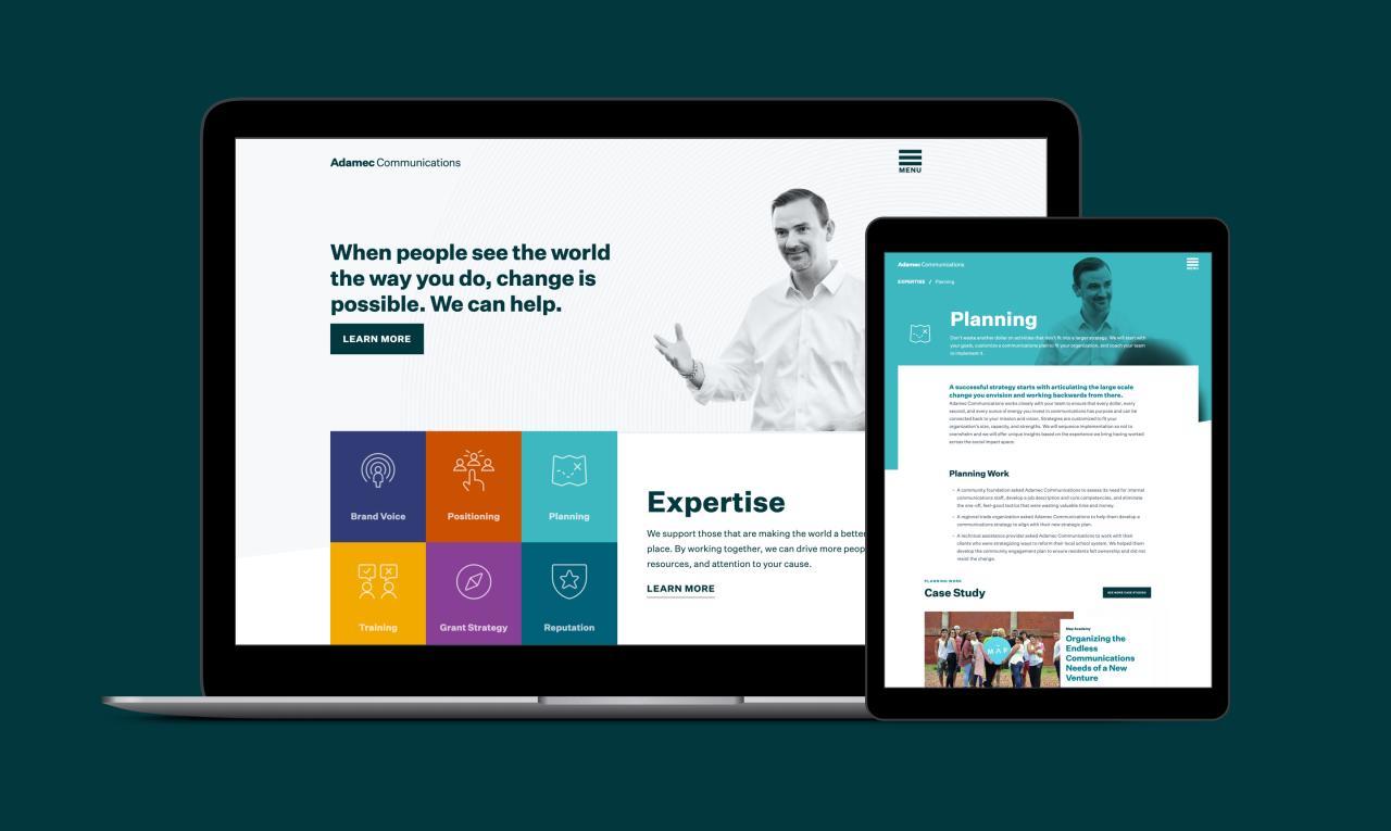 adamec-website-design