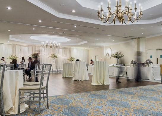 Synagogue reception/event area
