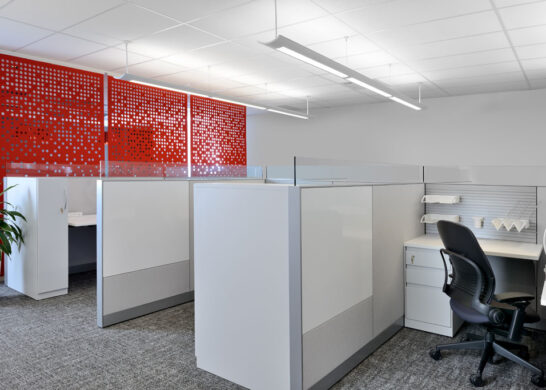 DuPont Canada office - office sections