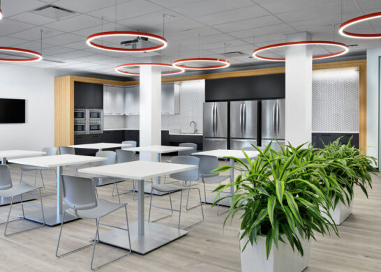 DuPont Canada office - dining and meeting area