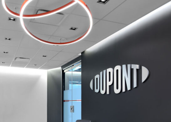 DuPont Canada office - waiting area