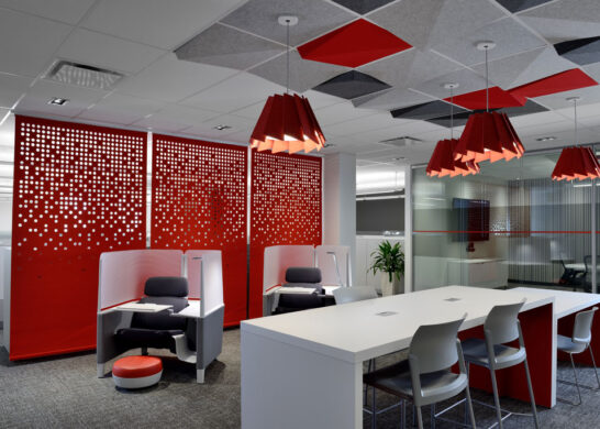 DuPont Canada office - individual desk units, and other workspaces