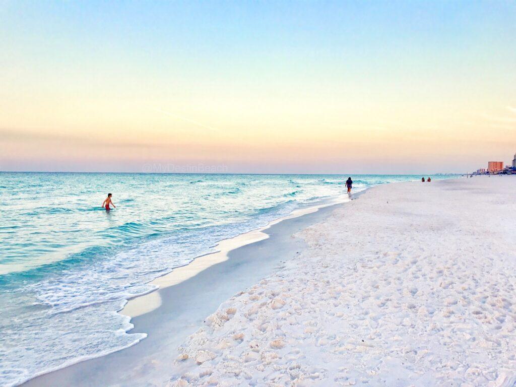 sunrise on Miramar Beach, Florida
