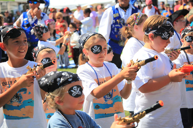 billybowlegs pirate Festival kids in destin ft. walton beach