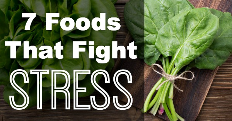 7 Foods That Fight Stress