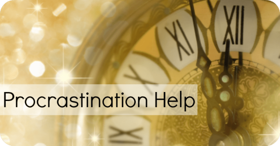 10 Tips for Getting Procrastination Help