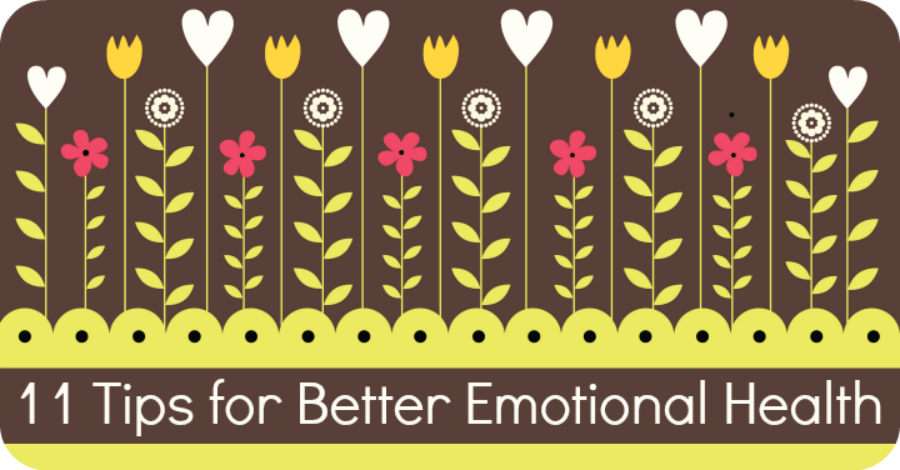 11 Tips for Better Emotional Health